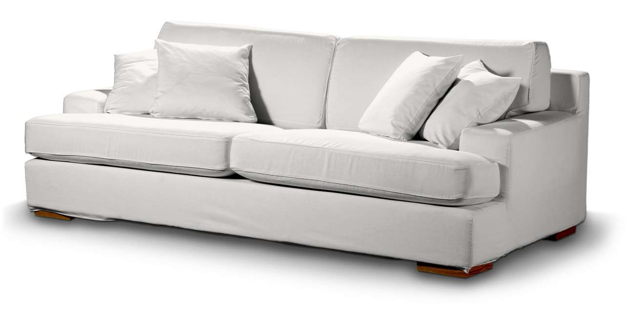 Pokrowiec na sofę Göteborg nierozkładaną Sofa Göteborg nierozkładana w kolekcji Cotton Panama, tkanina: 702-34