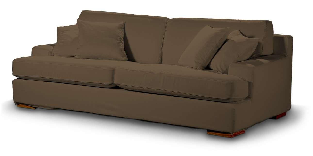 Pokrowiec na sofę Göteborg nierozkładaną w kolekcji Living, tkanina: 160-94