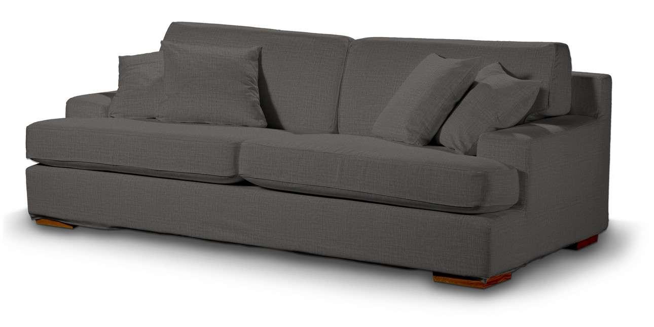 Pokrowiec na sofę Göteborg nierozkładaną w kolekcji Living, tkanina: 161-16