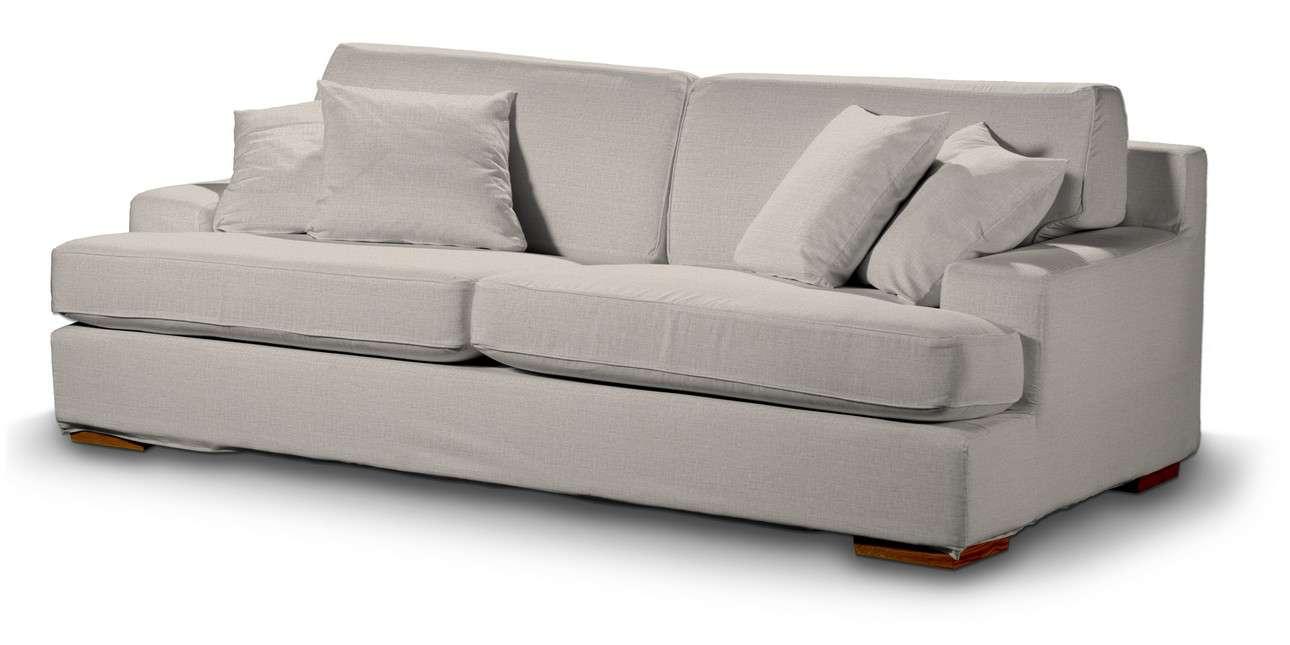 Pokrowiec na sofę Göteborg nierozkładaną w kolekcji Living, tkanina: 161-00