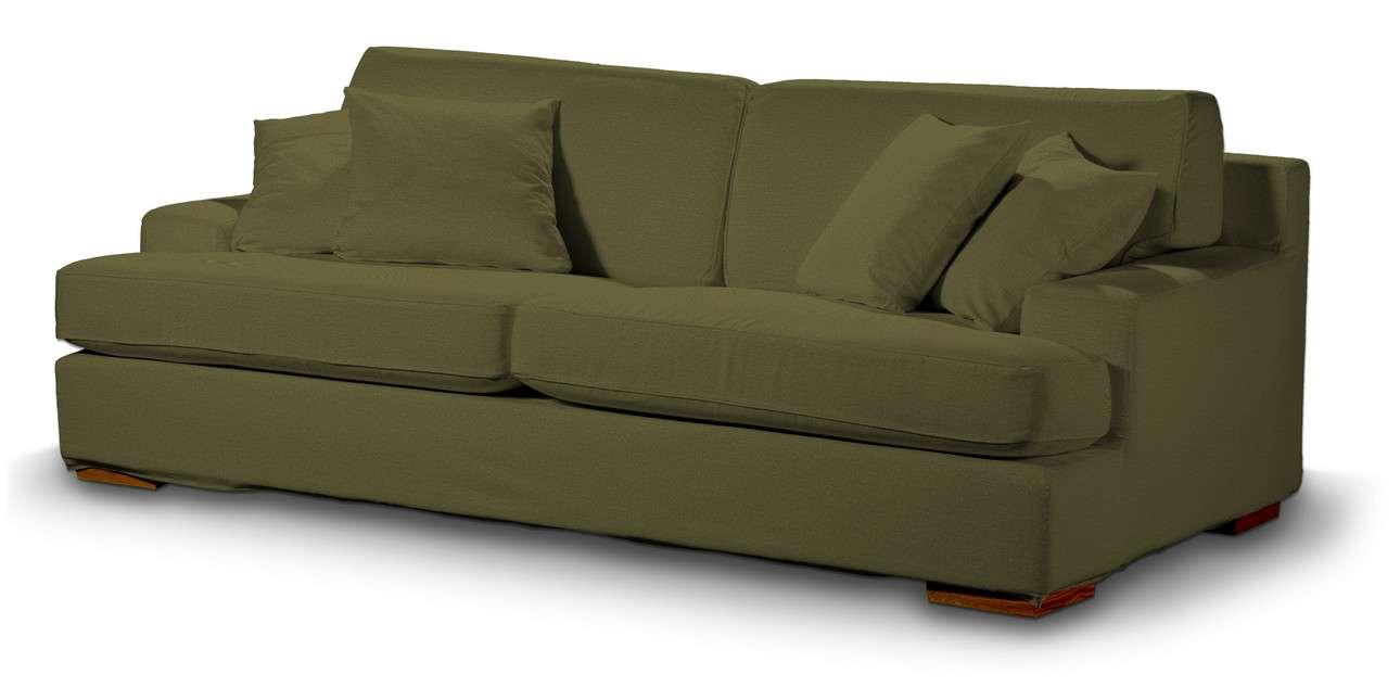 Pokrowiec na sofę Göteborg nierozkładaną w kolekcji Etna, tkanina: 161-26