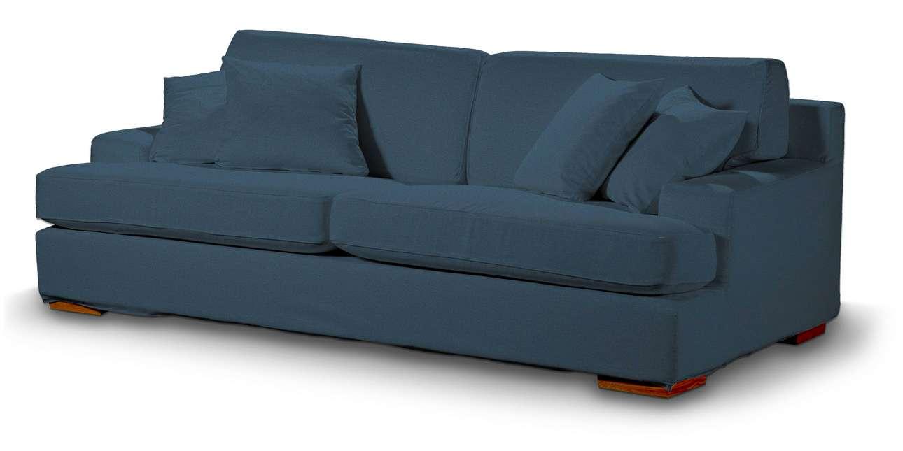 Pokrowiec na sofę Göteborg nierozkładaną w kolekcji Etna, tkanina: 705-30