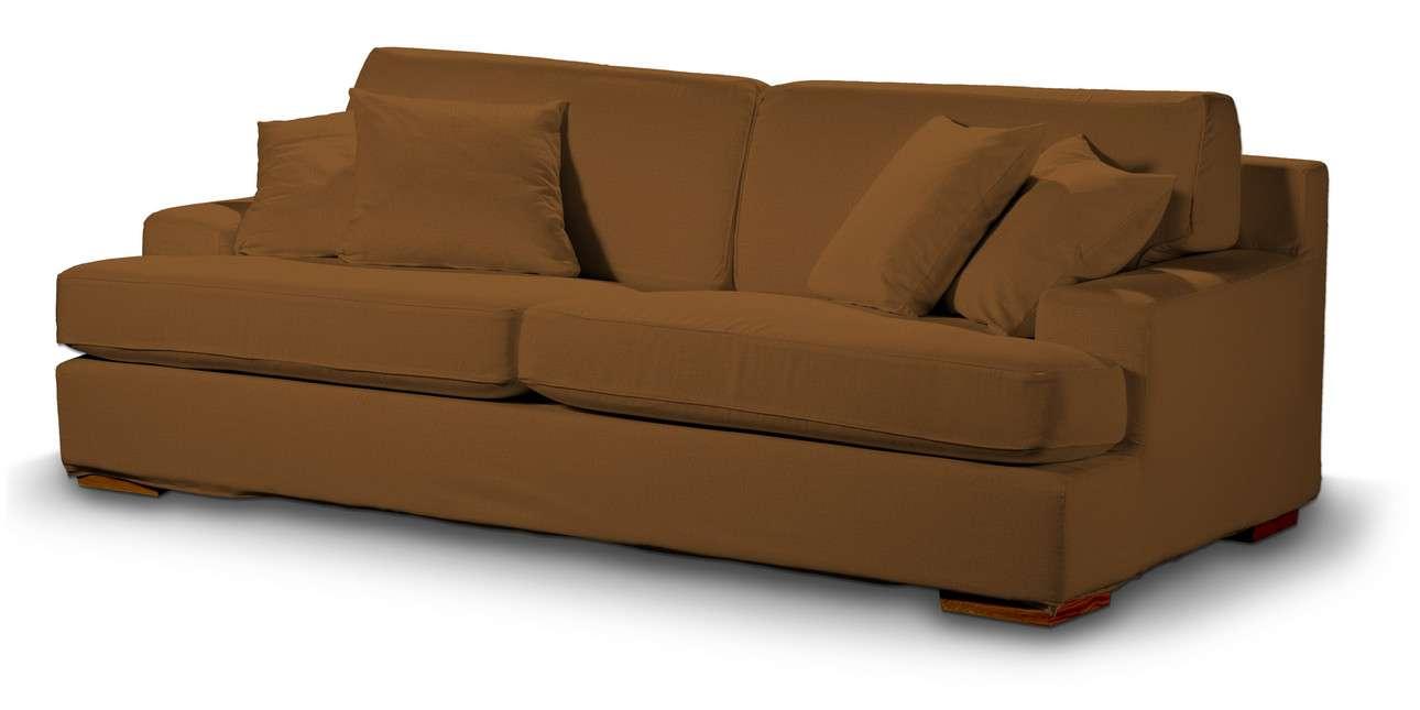 Pokrowiec na sofę Göteborg nierozkładaną w kolekcji Living II, tkanina: 161-28