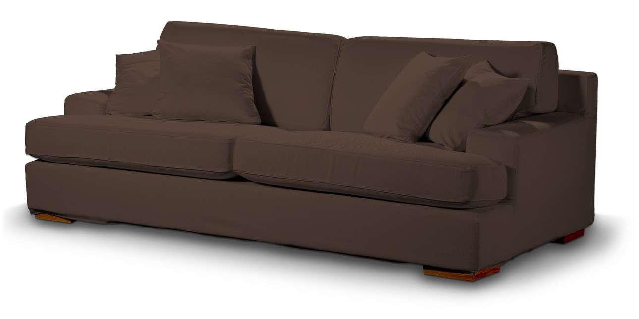 Pokrowiec na sofę Göteborg nierozkładaną w kolekcji Bergen, tkanina: 161-73