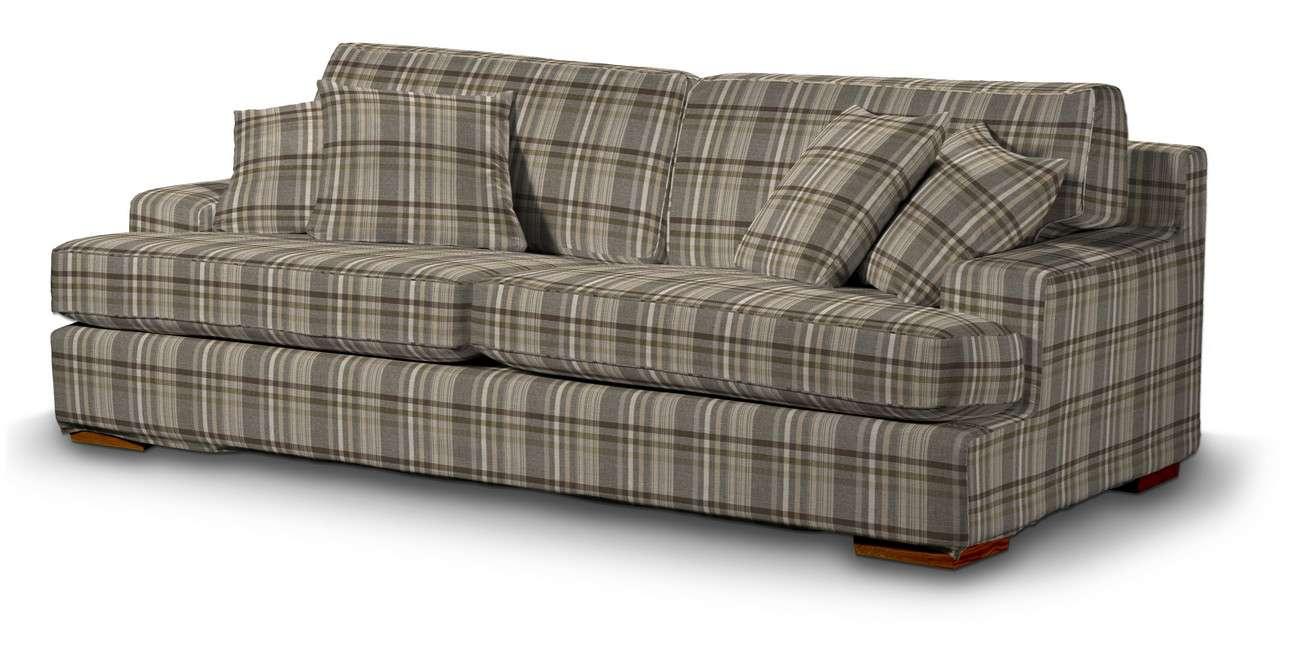 Pokrowiec na sofę Göteborg nierozkładaną w kolekcji Edinburgh, tkanina: 703-17