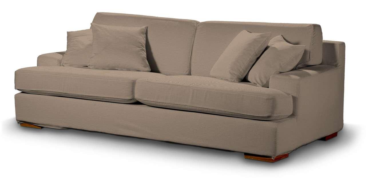 Pokrowiec na sofę Göteborg nierozkładaną w kolekcji Bergen, tkanina: 161-75