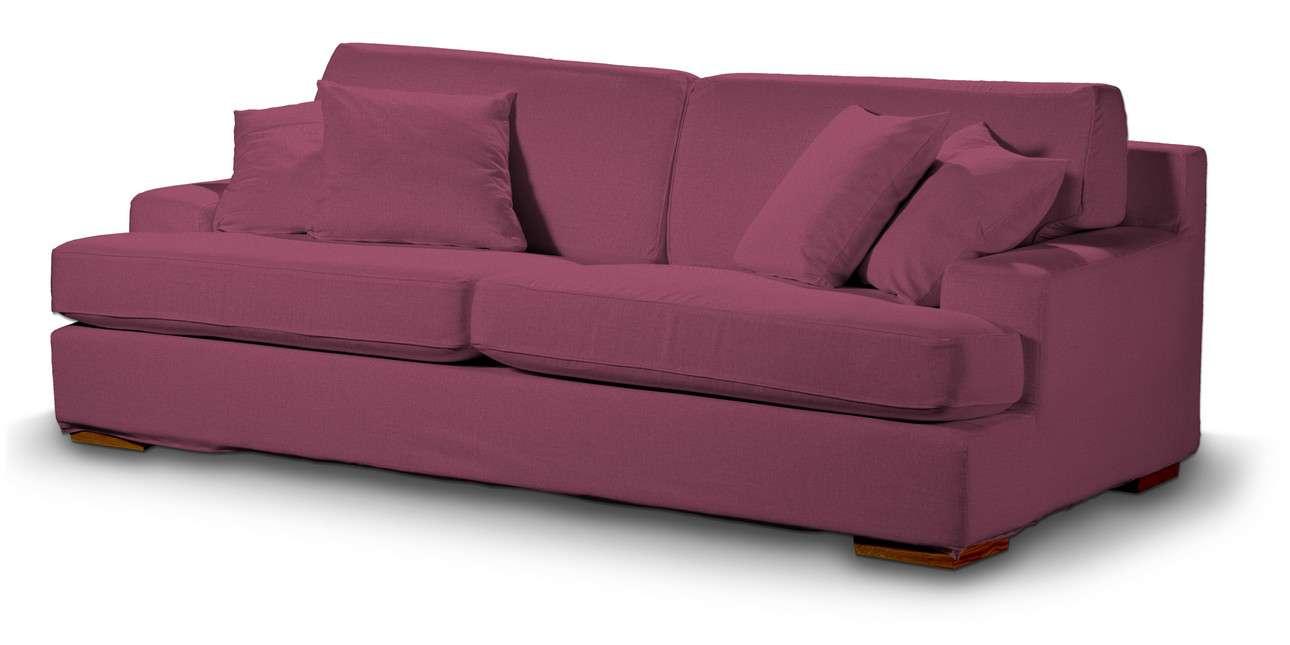 Pokrowiec na sofę Göteborg nierozkładaną w kolekcji Living, tkanina: 160-44