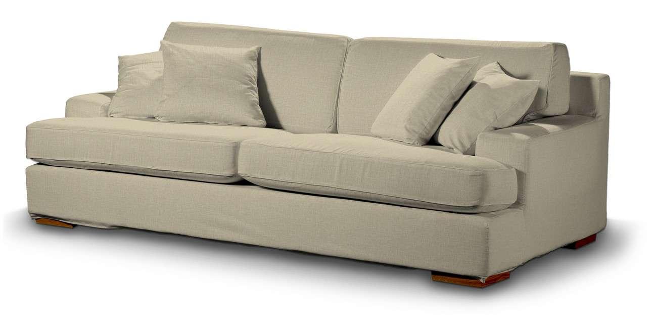 Pokrowiec na sofę Göteborg nierozkładaną w kolekcji Living, tkanina: 161-45