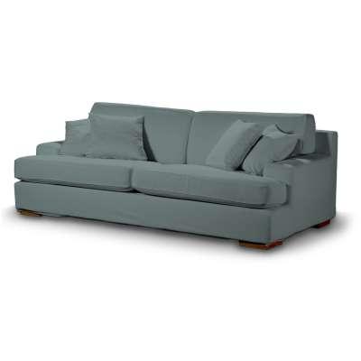 Pokrowiec na sofę Göteborg nierozkładaną w kolekcji Cotton Panama, tkanina: 702-40