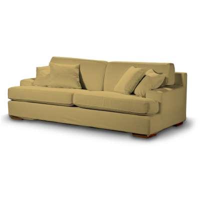 Pokrowiec na sofę Göteborg nierozkładaną w kolekcji Cotton Panama, tkanina: 702-41