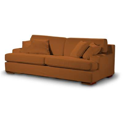 Pokrowiec na sofę Göteborg nierozkładaną w kolekcji Cotton Panama, tkanina: 702-42
