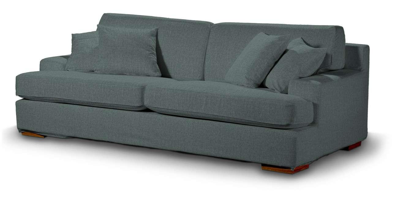 Pokrowiec na sofę Göteborg nierozkładaną w kolekcji City, tkanina: 704-85