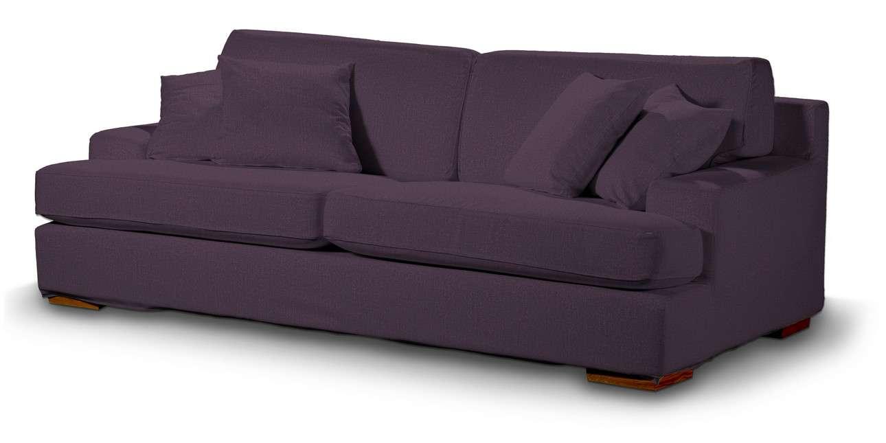Pokrowiec na sofę Göteborg nierozkładaną w kolekcji Living, tkanina: 161-67