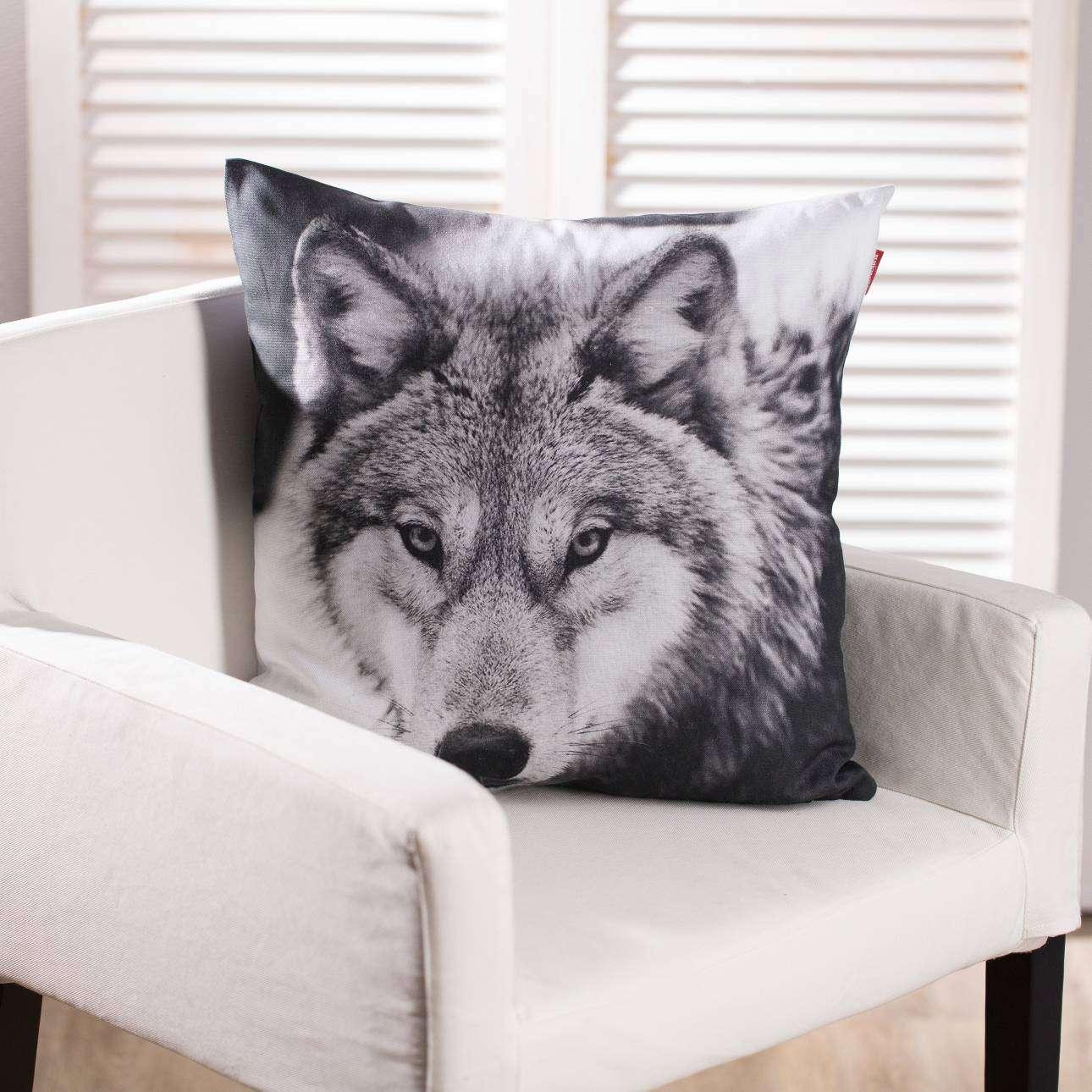 Poszewka Wolf 45x45cm 45x45cm
