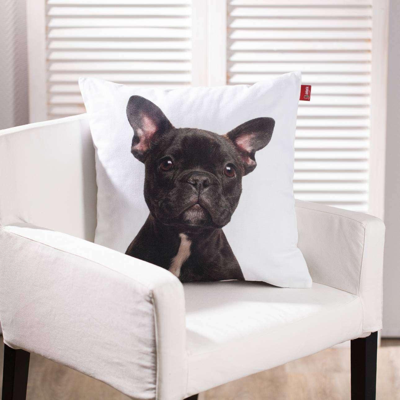 Poszewka French Bulldog 45x45cm 45x45cm