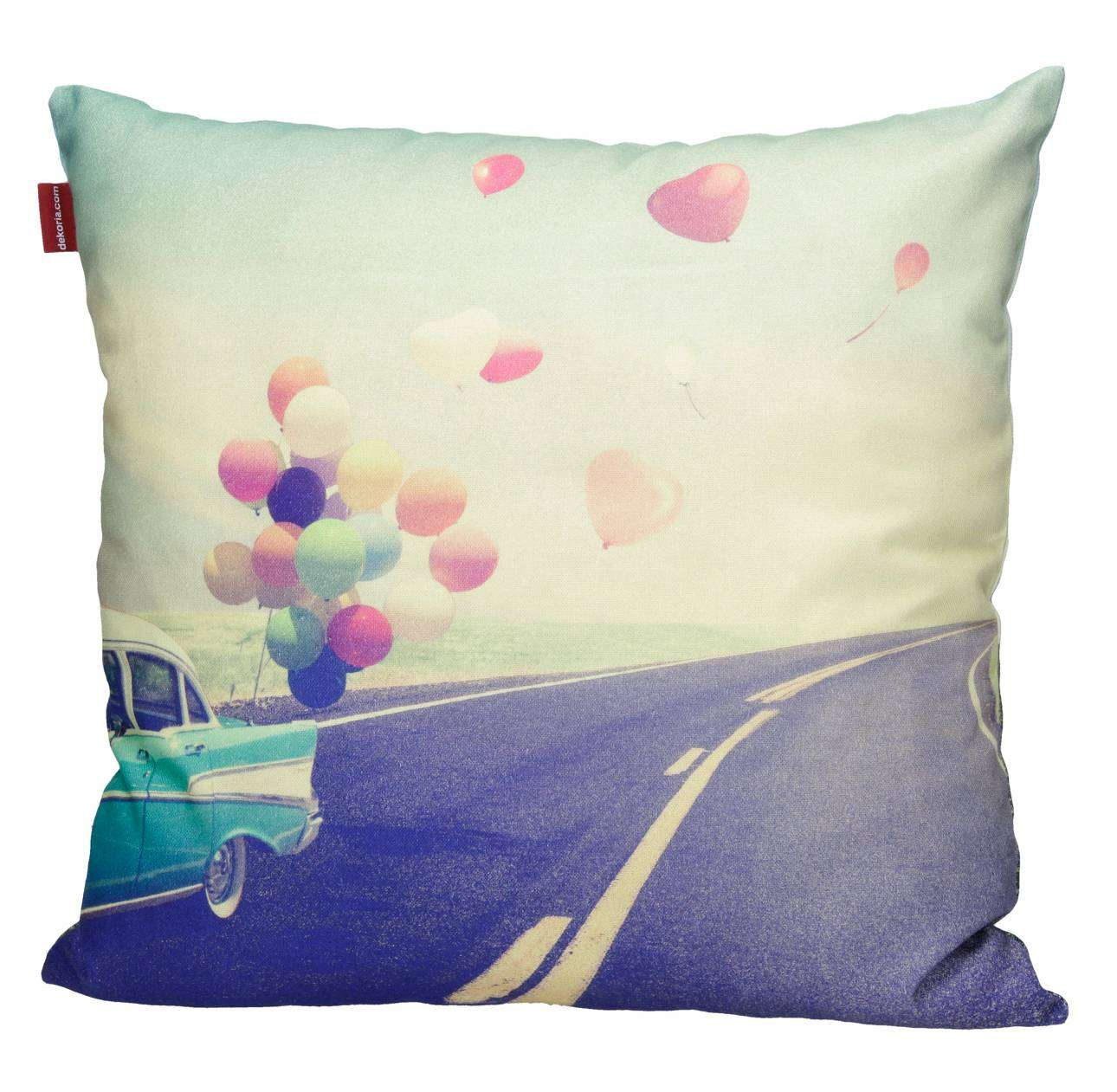 Balloons Print Cushion Cover 45x45cm