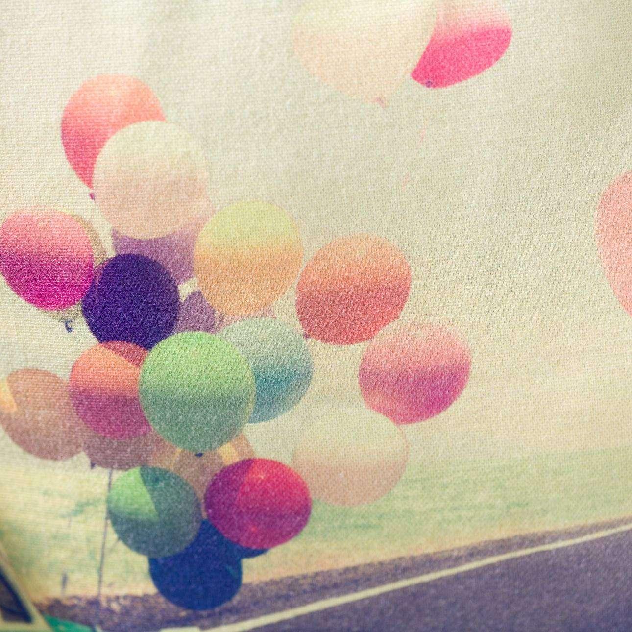 Pagalvėlės užvalkalas Ballons 45x45cm 45x45cm