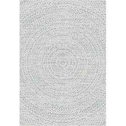 Teppich Breeze Circles wool/ cliff grey 160x230cm