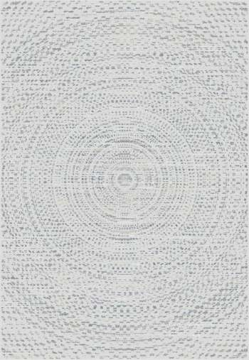 Teppich Breeze Circles wool/ cliff grey 160x230cm
