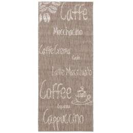 Küchenläufer Cottage Coffee mink/ wool 60x180cm