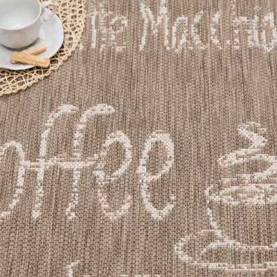Vloerkleed Cottage Coffee mink/wool 60x180cm Vloerkleden - Dekoria.nl