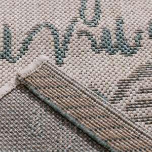 Dywan Cottage Letters wool/spa blue 60x180cm 60x180cm