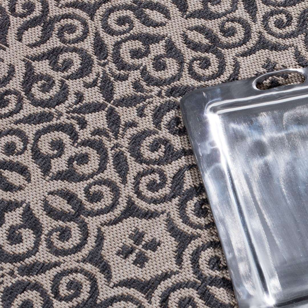 Dywan Modern Ethno sand/anthracite 120x170cm