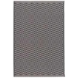 Dywan Modern Geometric black/wool 120x170cm