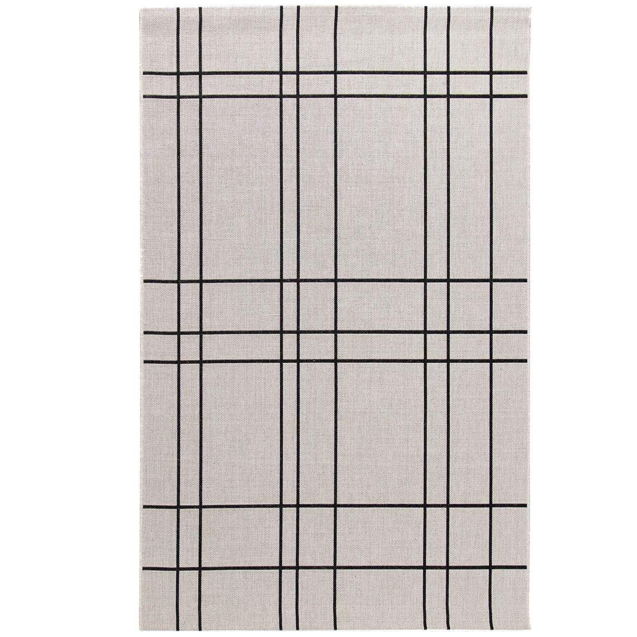 Kilimas Modern Lines rusva/juoda 160x230cm 160x230cm
