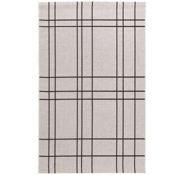 Teppich Modern Lines wool/ black 160x230cm