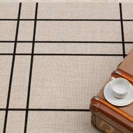 Dywan Modern Lines wool/black 160x230cm