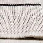 Teppich Modern Lines wool/ black 160x230cm 160x230cm