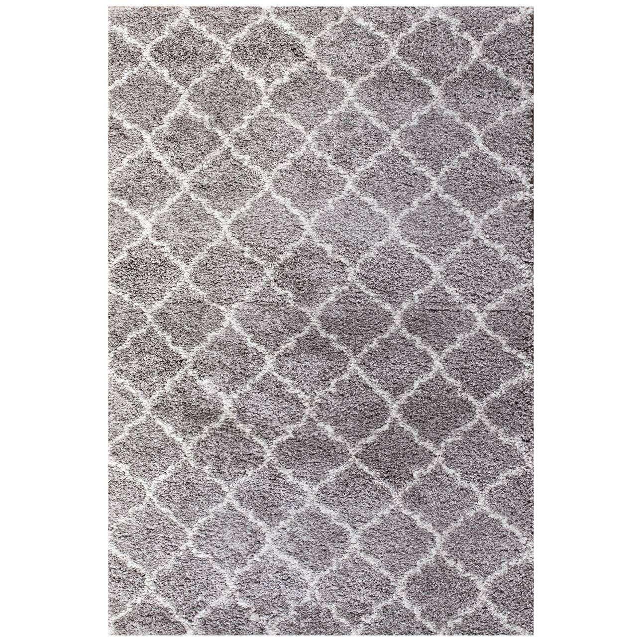Royal Morocco Dove Grey/Cream Area Rug 120x170cm