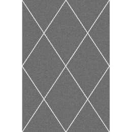 Teppich Royal Rhombs dark grey /cream 160x230cm