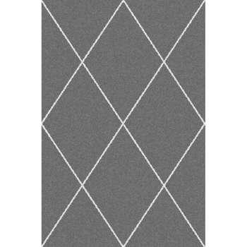 Koberec Morocco Royal Rhombs dark grey/cream 160x230cm