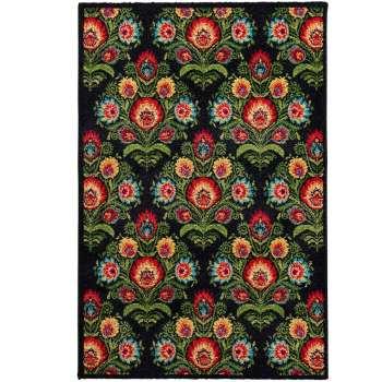 Teppich Modern Folk anthracite 120x170cm