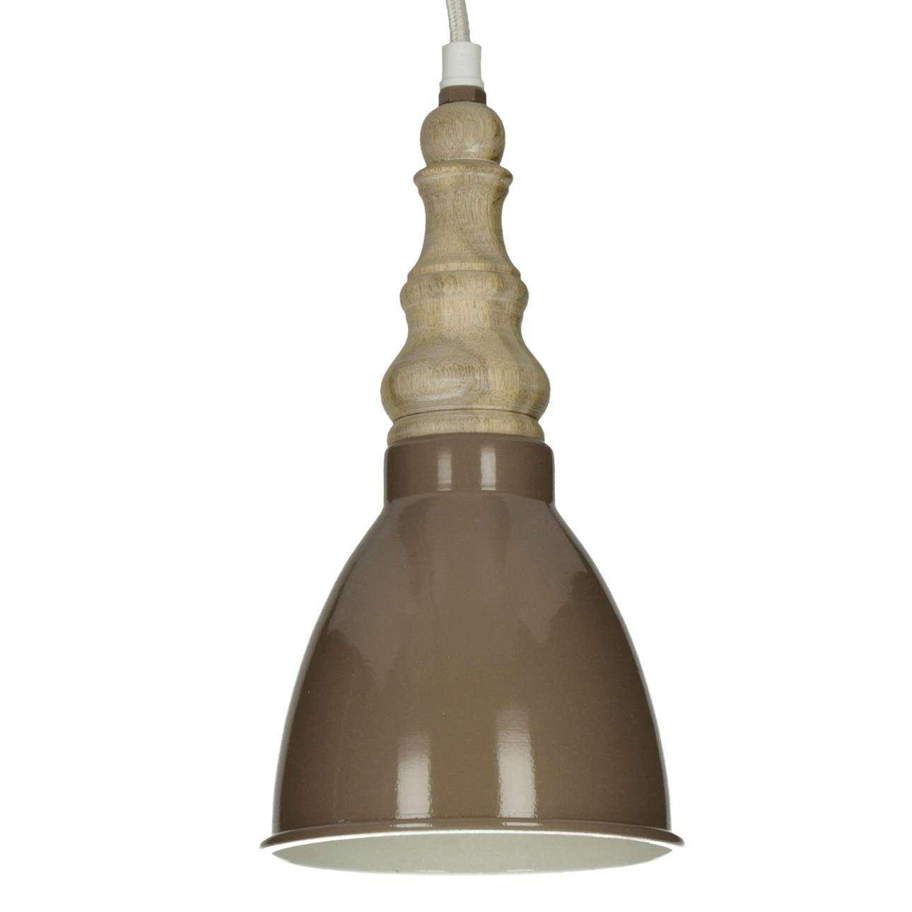 Dekoria Lampa wisząca Ciara Beige 14cm
