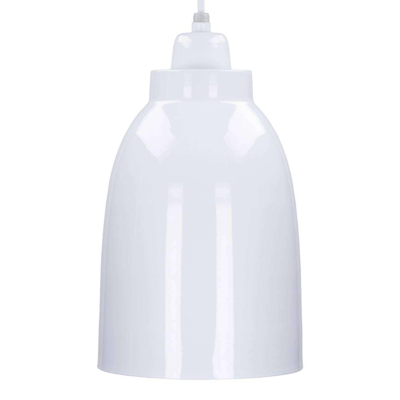 Dekoria Lampa wisząca Single White 17cm