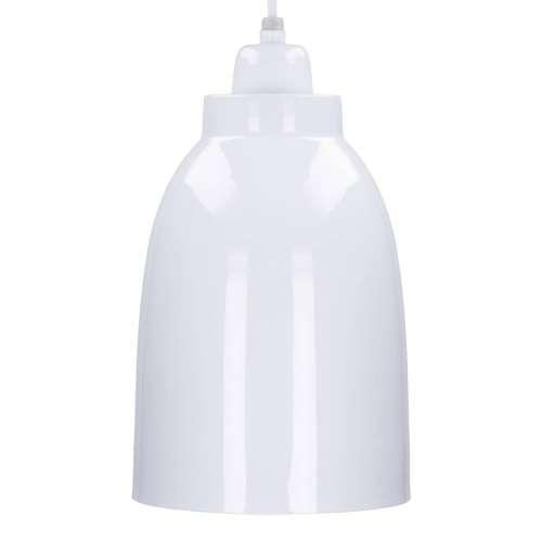 Hängelampe Single White 17cm