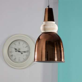 Lampa wisząca Milena light copper 22cm  22cm