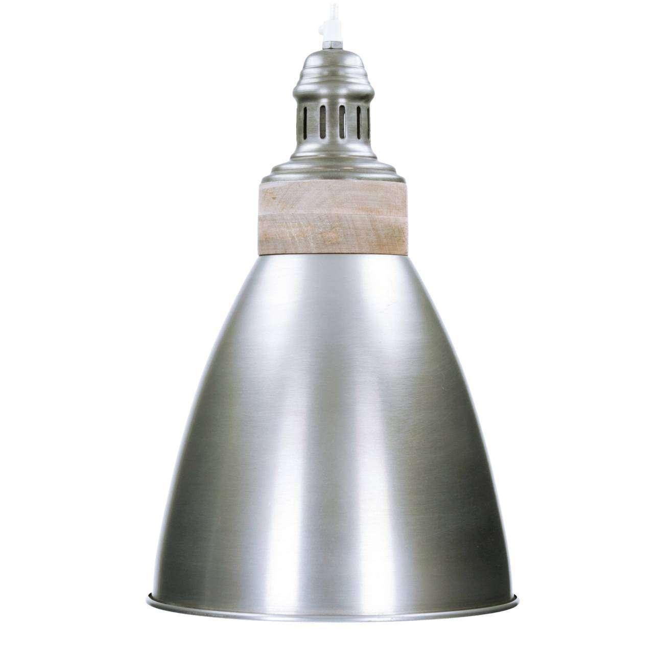Dekoria Lampa wisząca Amy Silver 25cm