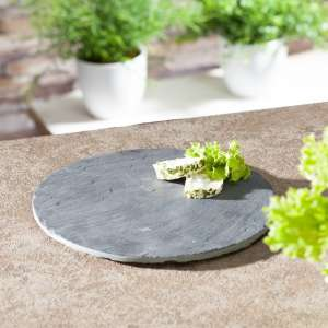 Taca okrągła łupek naturalny 21cm 21cm