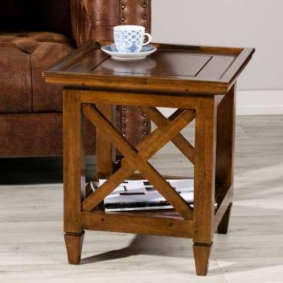 Bijzettafel Enzo 45x60cm Koloniale meubels - Dekoria.nl