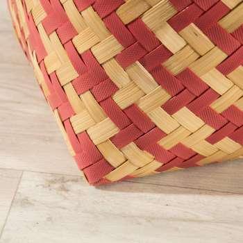 Kosz z pokrywą Stripes 37,5x41cm -50% 38x38x41cm