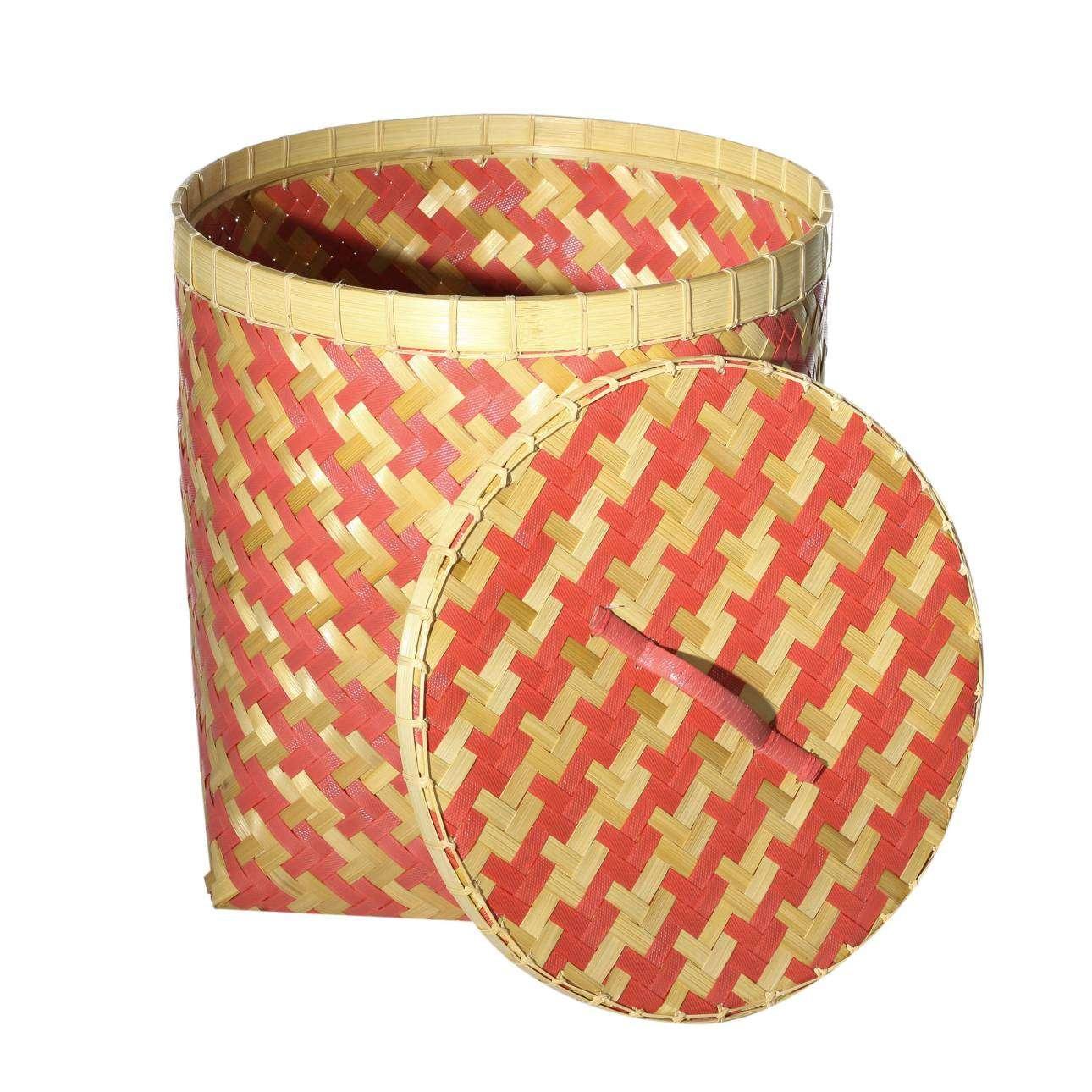 Kosz z pokrywą Stripes 45x47cm -50% 45x45x47cm