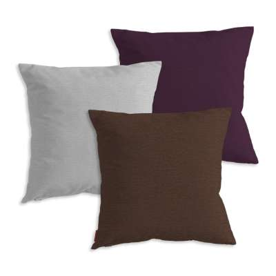 Cushion cover 3-pack chenille 10 Cushion Cover 3-pack - Dekoria.co.uk