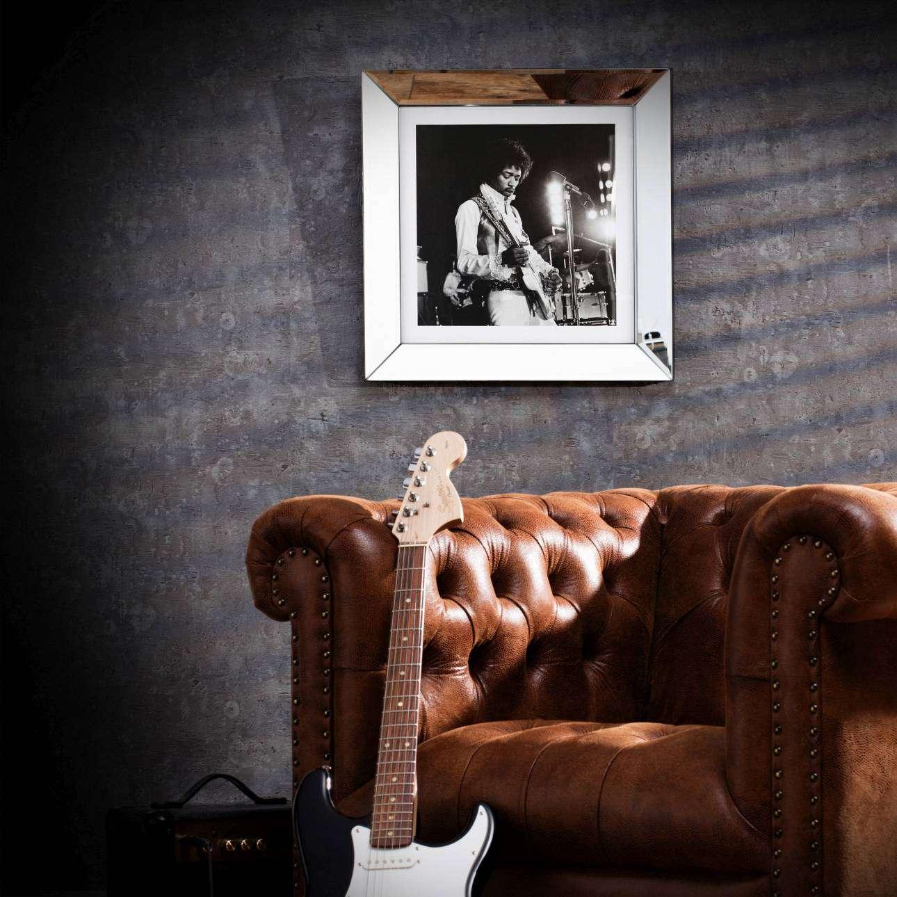 Obraz Jimi Hendrix 51x51cm
