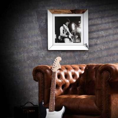 Wandbild Jimi Hendrix 51x51cm