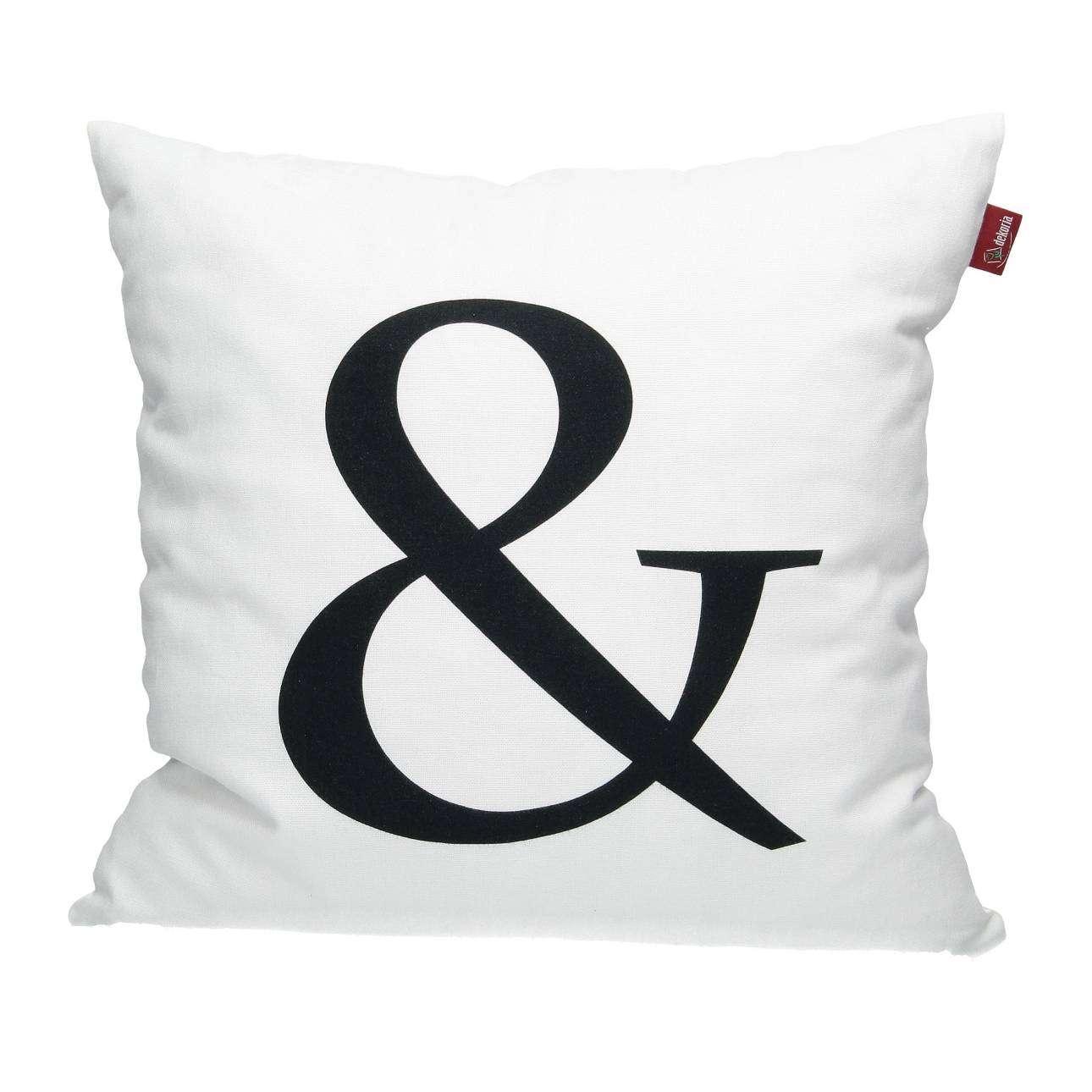 & Print Cushion Cover 45x45cm