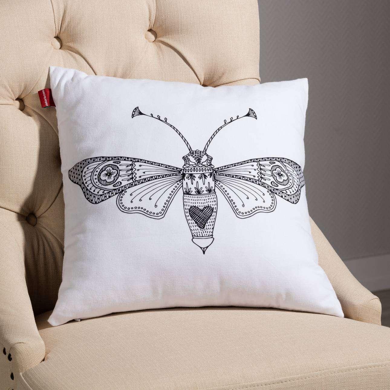 Deko-Kissenhülle Insects 45x45cm